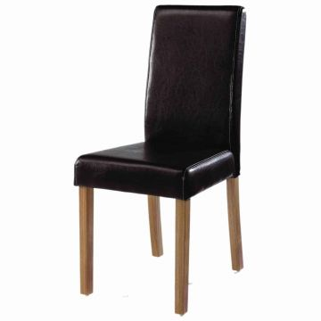 Oakridge Leather Dining Chair (Pair)