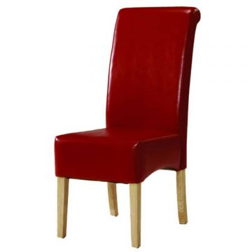 Padstow Leather Dining Chair (Pair)