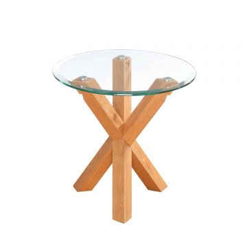 Oporto Glass End / Lamp Table