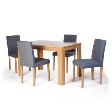 Norfolk Dining Table with 4 Chairs