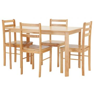 Derby Dining Table with 4 Chairs