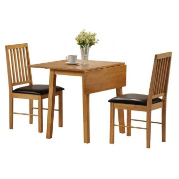 Palma Butterfly Dining Table with 2 Chairs