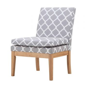 Victor Fabric Accent Lounge Chair