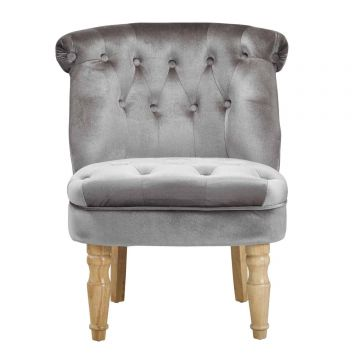 Charlotte Velvet Lounge Chair