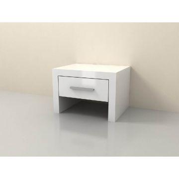 Alabama 1 Drawer Bedside Table