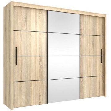 carlow 250cm sliding wardrobe wenge