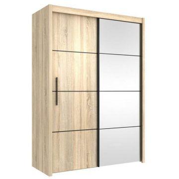 carlo 151cm wenge wardrobe