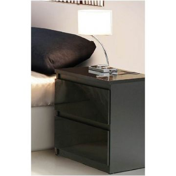 Louise 2 Drawer Bedside Chest