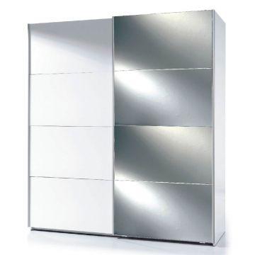 Madrid 180cm Mirrored Sliding Wardrobe