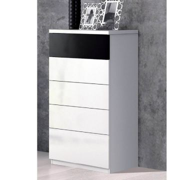 Madrid 5 Drawer Tall Chest