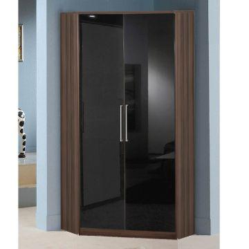 Milano 2 Door Corner Wardrobe
