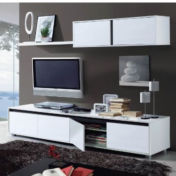 Arua TV Stand and Wall Cabinet