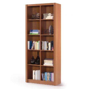 Squares Double Bookcase
