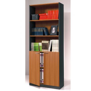 Stilo Bookcase with Cupboard