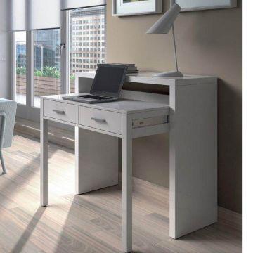 Turin 2 Drawer Hideaway Desk / Dressing Table
