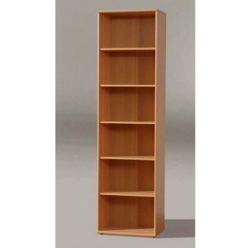 Tempra Tall Narrow Bookcase