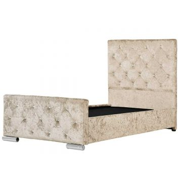 Beaumont Crushed Velvet Storage Bed