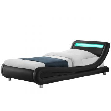 Madrid LED Leather Bed