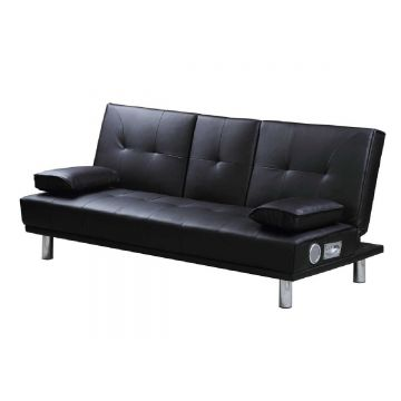 Manhattan Bluetooth Leather Sofa Bed