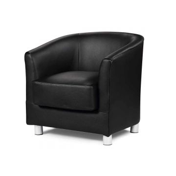 Vegas Leather Tub Chair