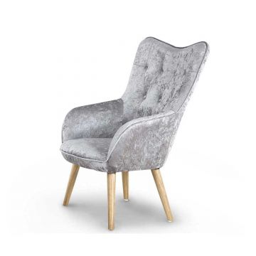 Alton Crushed Velvet Armchair