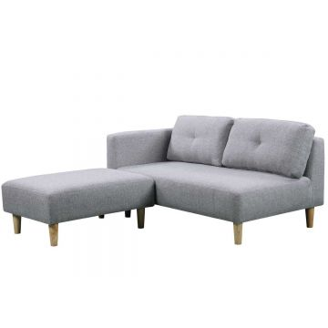 Cavendish 2 Seater Fabric Sofa with Stool