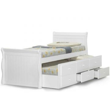 Wilmslow Wooden Captain Bed