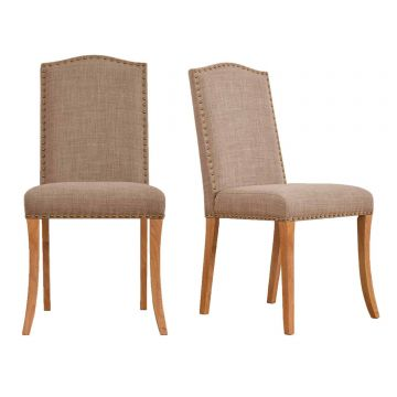 Evesham Fabric Dining Chair (Pair)