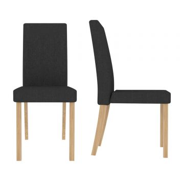 Anna Fabric Dining Chair (Pair)
