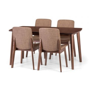Kensington Dining Set With 4 Chairs
