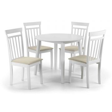 Coast Dropleaf Dining Set with 4 Chairs