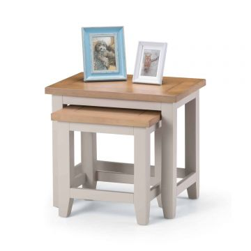 Richmond Wooden Nest of 2 Tables