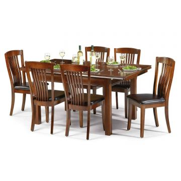 Canterbury Wooden Dining Set With 6 Chairs