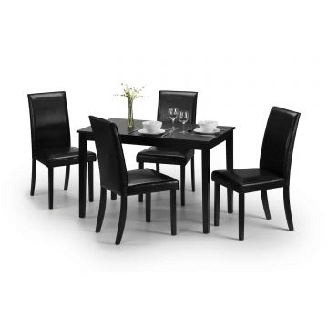 Hudson Dining Set With 4 Chairs