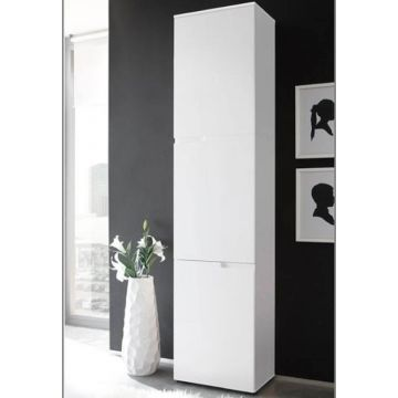Santino Tall 3 Door Bookcase / Cabinet