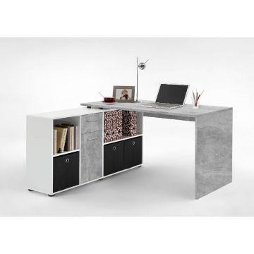 Luiz Corner Flexi Desk