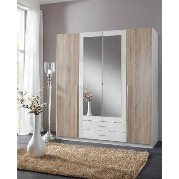 Artic 4 Door 2 Drawer Wardrobe
