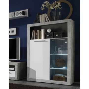 Pietra Display Cabinet