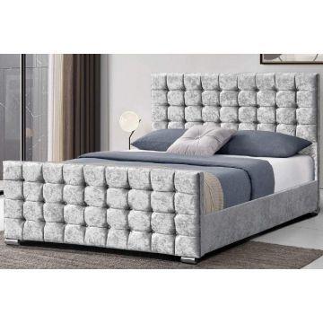 Dalkeith Cubed Velvet Bed