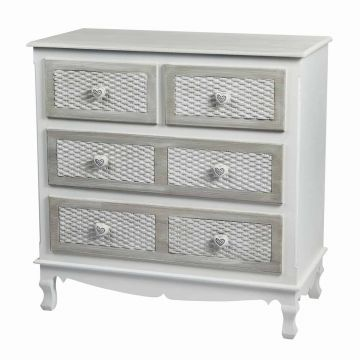 Brittany 2 Plus 2 Drawer Chest