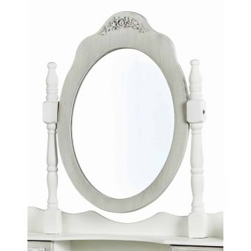 Brittany Drawer Dressing Table Mirror