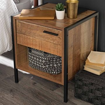 Hoxton 1 Drawer Bedside Chest