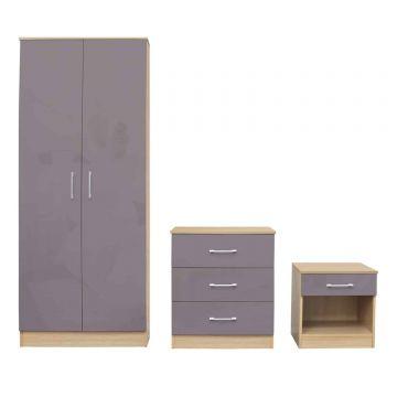 Dakota 3 Piece Bedroom Set