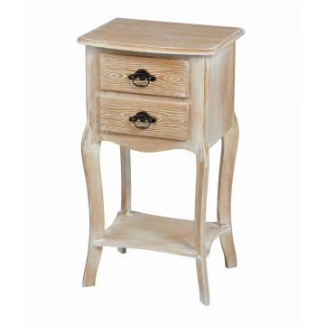 Provence 2 Drawer Table
