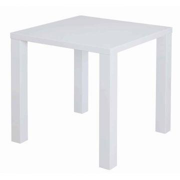 Puro White 79cm Square Dining Table