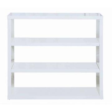Puro White Bookcase