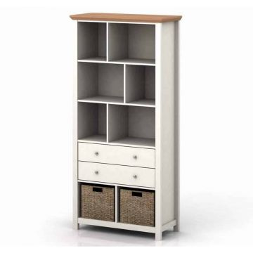 Cotswold 2 Drawer Bookcase