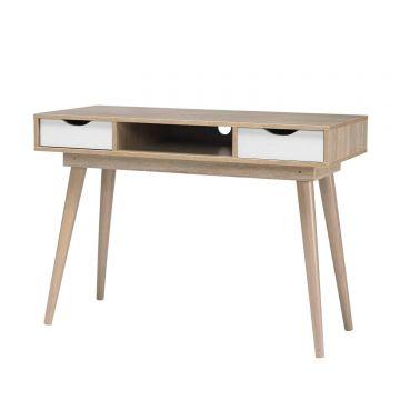 Scandi 2 Drawer Desk
