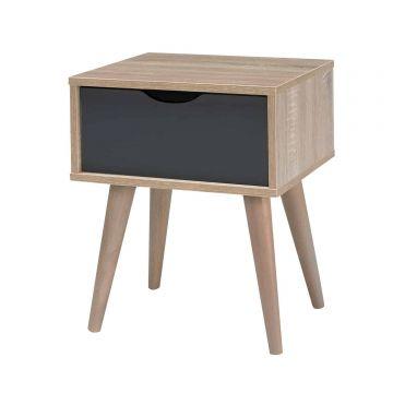 Scandi 1 Drawer Lamp Table