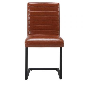 Montana Leather Dining Chair (Pair)